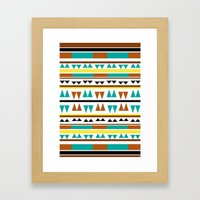 Pattern 2  Framed Art Print