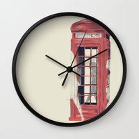 No Place Called Home Wall Clock