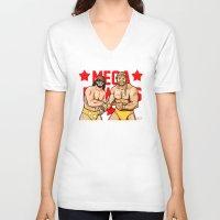 Mega Powers, Hulk Hogan … Unisex V-Neck