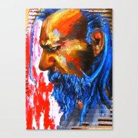 Le Sphinx Des Contre-all… Canvas Print