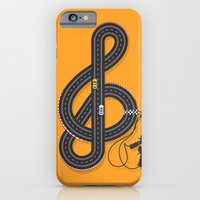 iPhone & iPod Case featuring Sound Track by paddyroo