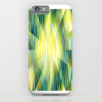 iPhone Cases featuring Tropical Abstract by Kathleen Sartoris