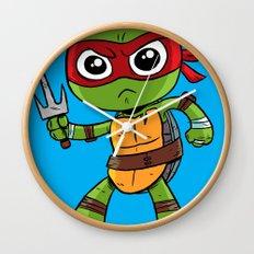 TMNT Raphael Wall Clock