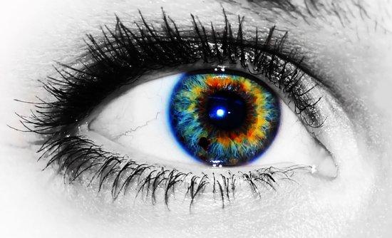 Sofies eye Art Print