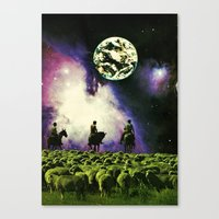 Dead Combo Canvas Print