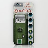 iPhone Cases featuring Speed Cola by Head Glitch