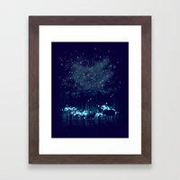 Cosmic Safari Framed Art Print