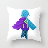 Pixel Fi Throw Pillow