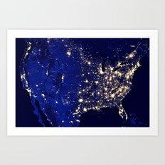 America Art Print