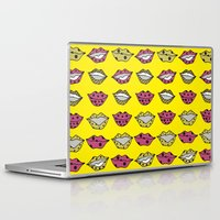 lips Laptop & iPad Skins featuring LIPS by MICALI/ M J