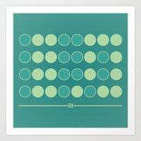 Geek in Binary Art Print