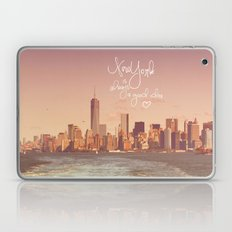 NEW YORK NEW YORK Laptop & iPad Skin