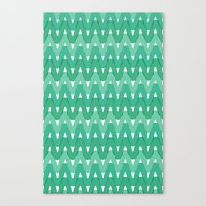 Summer Pattern 7 (Fresh Cut Grass) Canvas Print
