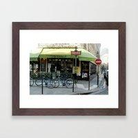 Paris Metro Framed Art Print