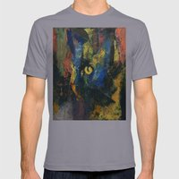 Blue Cat Mens Fitted Tee Slate SMALL