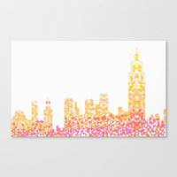 Sunrise Over NYC Canvas Print