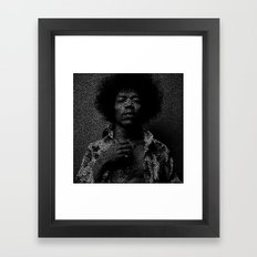 Hendrix Framed Art Print