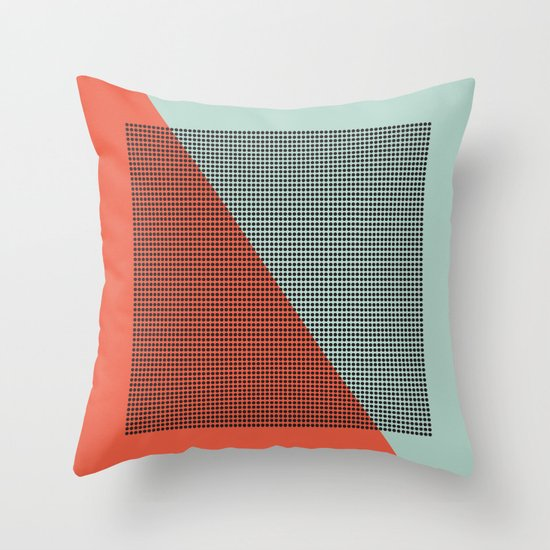 Farbe//Two Throw Pillow