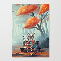 Date Canvas Print