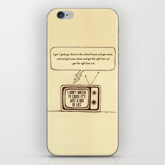 indy kidz iPhone & iPod Skin