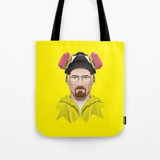 Breaking Bad - Walter White in Lab Gear Tote Bag