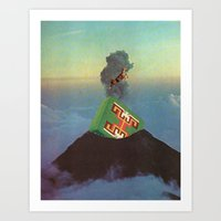 Holy Mountain Art Print