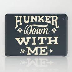 Hunker Down iPad Case