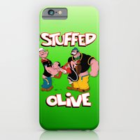 iPhone & iPod Case featuring Stuffed Olive by PsychoBudgie