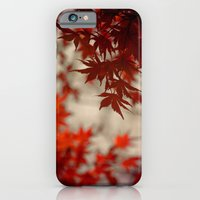 iPhone & iPod Case featuring a touch of crimson by Monica Ortel ❖