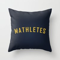 Mathletes - Mean Girls M… Throw Pillow