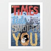 Smiths - Times Tide - Mo… Art Print