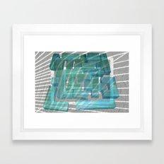 Mosaik 1.2 Framed Art Print