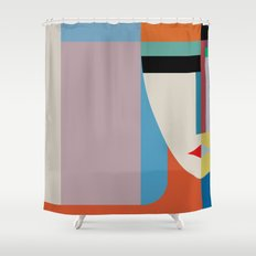 Absolute Face Shower Curtain