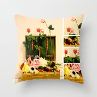 Travel Happiness Throw Pillow