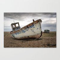 The Trawler, Dungeness, Kent Canvas Print
