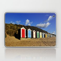 Beach Huts Laptop & iPad Skin