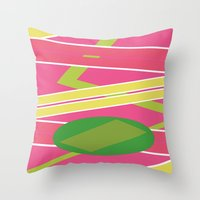 Back 2 The Future Throw Pillow