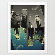 Canary Wharf - Poster, Art Print, Framed Art Print and Canvas  Art Print