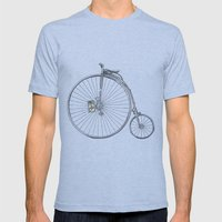 Bicycle Mens Fitted Tee Athletic Blue SMALL