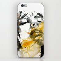 splash portraits iPhone & iPod Skin