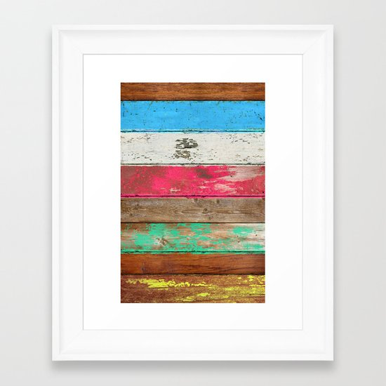 Eco Fashion Framed Art Print
