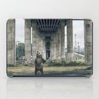 Bear sighting iPad Case