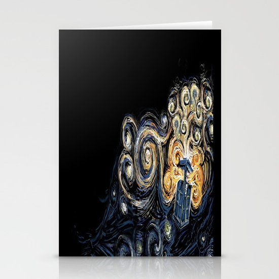 Doctor Who Van Gough Stationery Card