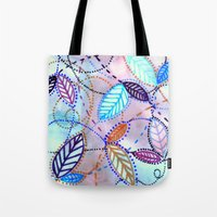 trajectories Tote Bag