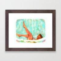 Lili St. Cyr Framed Art Print