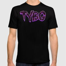TYBG Mens Fitted Tee SMALL Black