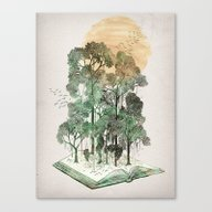 Jungle Book Canvas Print