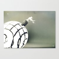 Stuck In A Hard Place |P… Canvas Print