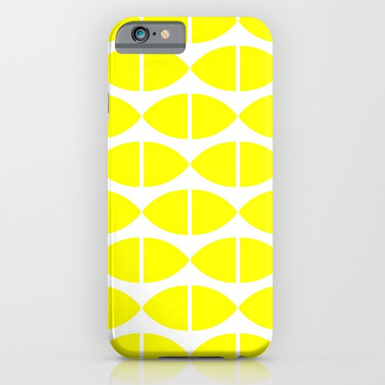 Lemons Pattern iPhone & iPod Case