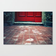 Tracks Canvas Print